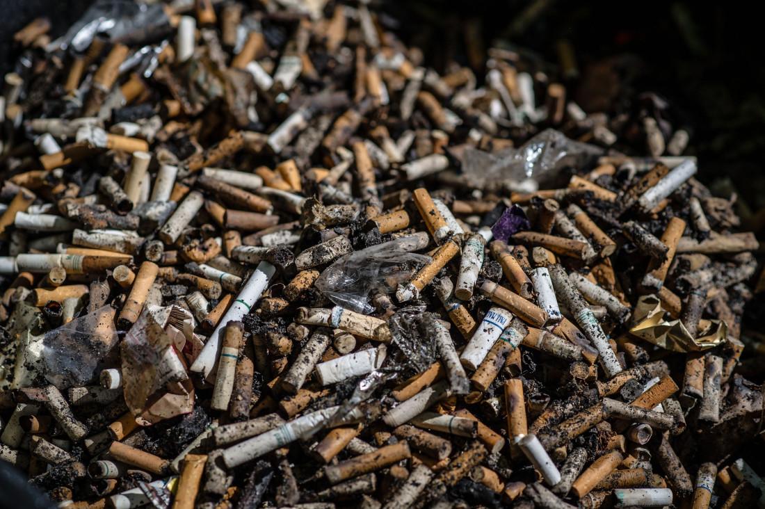 putung rokok
