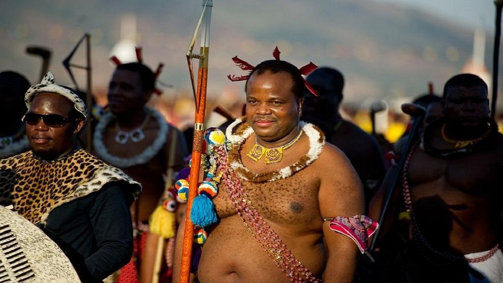 raja swaziland mswati iii