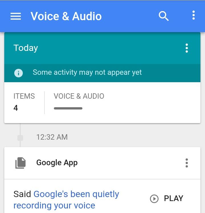 rakaman suara ok google 458