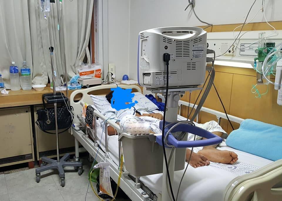 rakyat malaysia mengalami kecederaan ketika bekerja di korea selatan