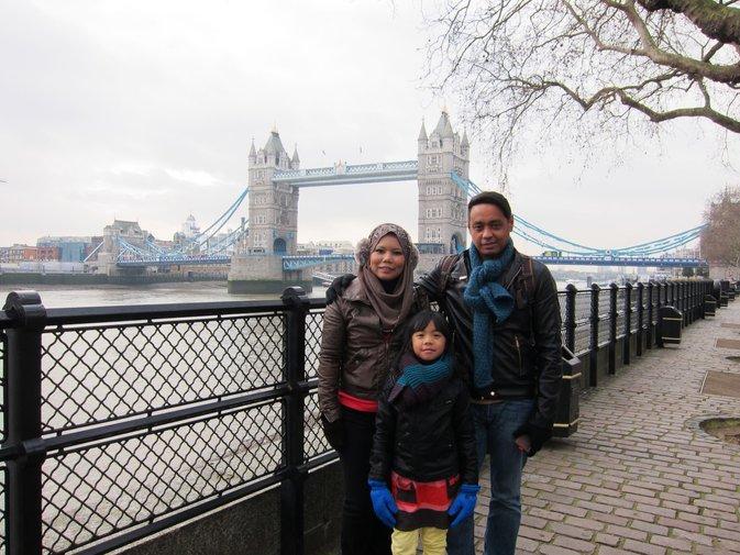 rakyat malaysia ramai yang melancong ke london