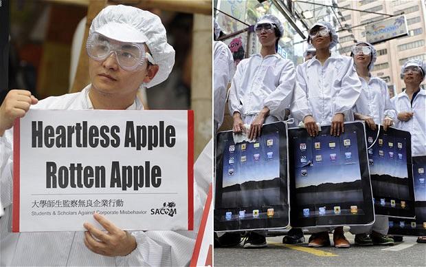 ramai staf kilang apple di china membunuh diri
