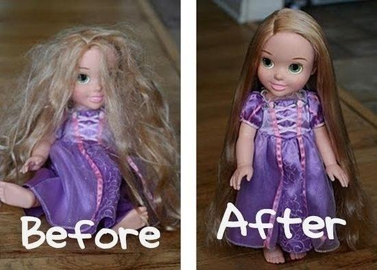 rambut barbie lifehacks