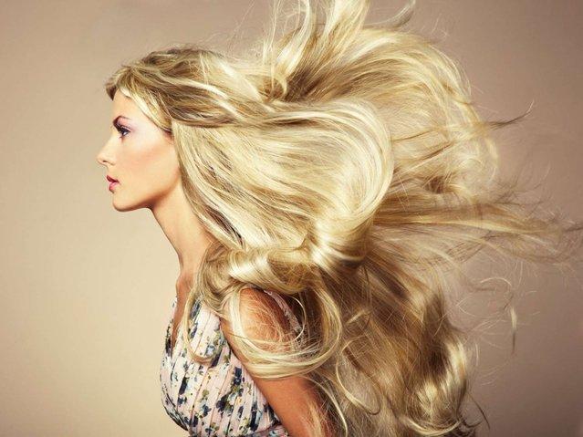rambut perang