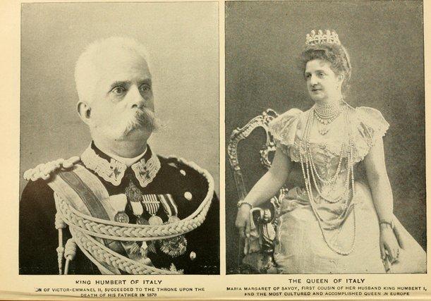 ratu dan raja itali
