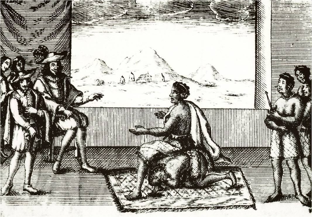ratu nzinga berunding dengan portugis