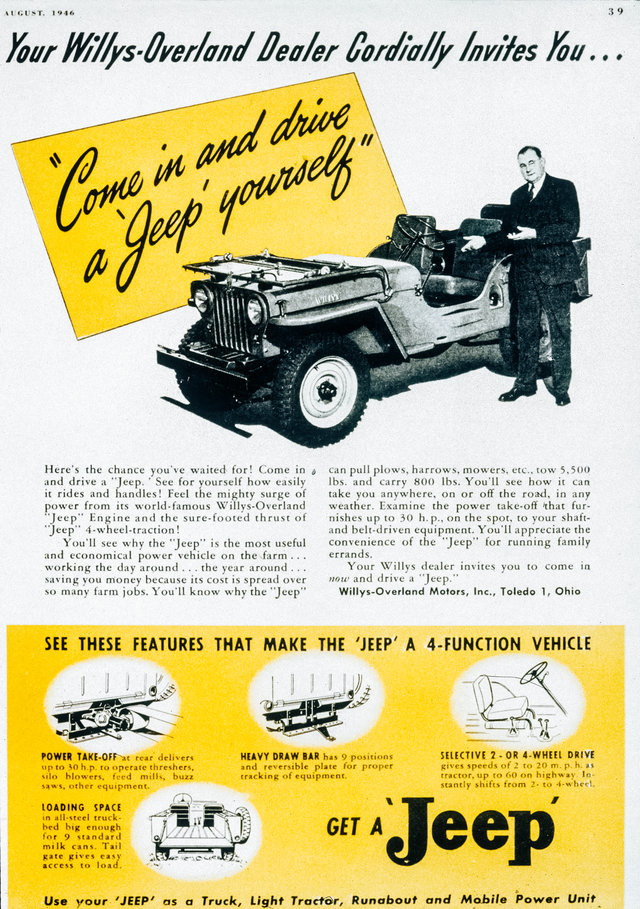 rekabentuk asal kereta jeep