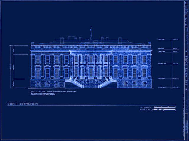 rekabentuk white house