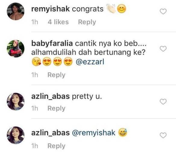 remy ishak sudah bertunang dengan ezza yusof 2