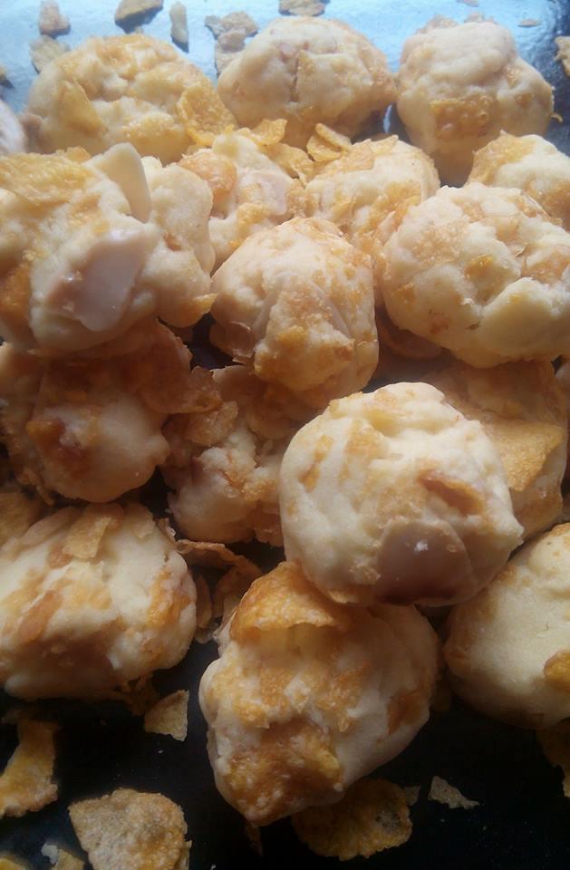 resepi biskut cornflakes almond crunchy iluminasi Resepi Nasi Jagung Enak dan Mudah