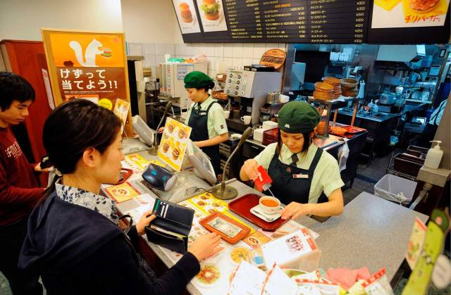 restoran makanan segera di luar negara