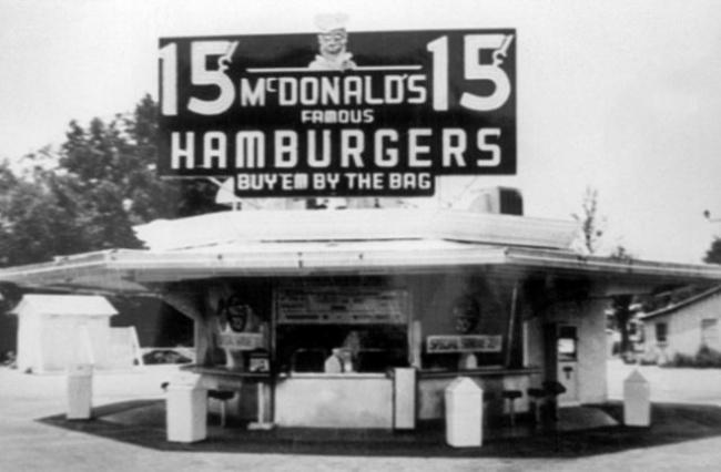 restoran mcdonald pertama