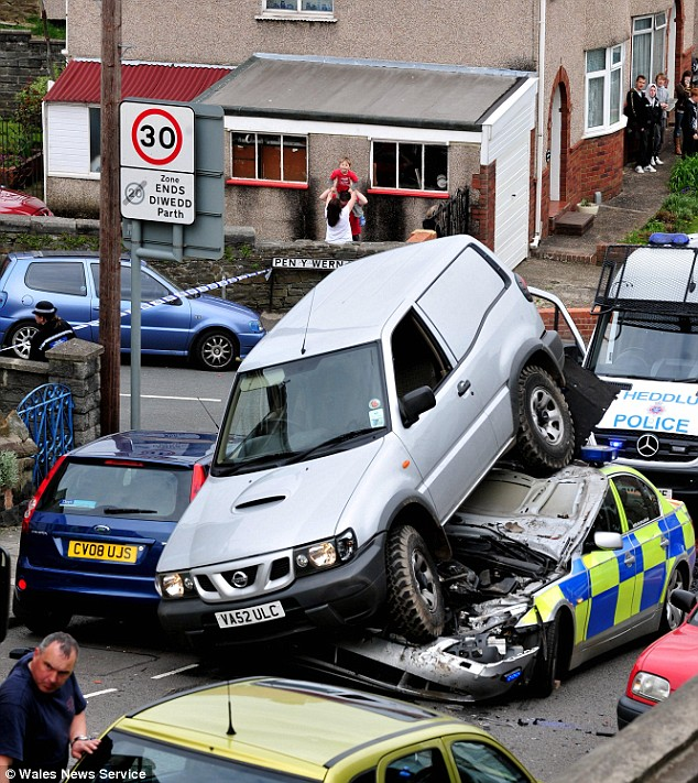 reverse accident
