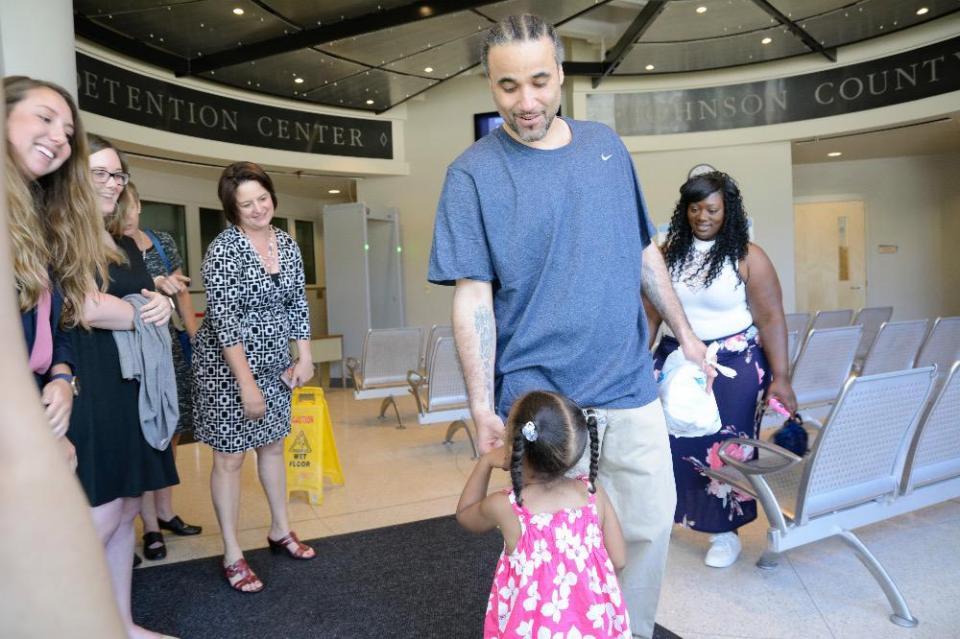 richard jones dan anak perempuannya 2
