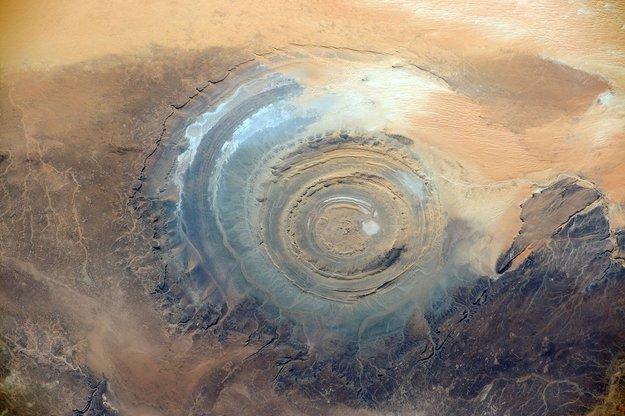 richat structure mauritinia tempat alien