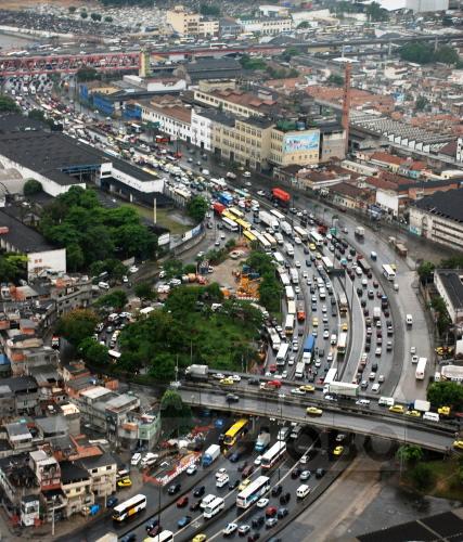 rio de janeiro trafik sesak paling teruk dalam dunia