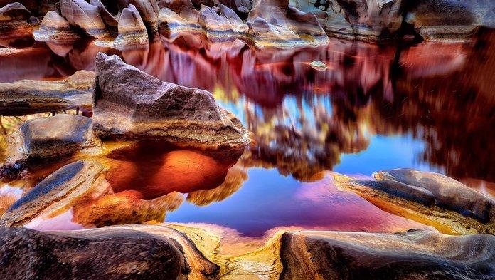 rio tinto sepanyol tempat alien