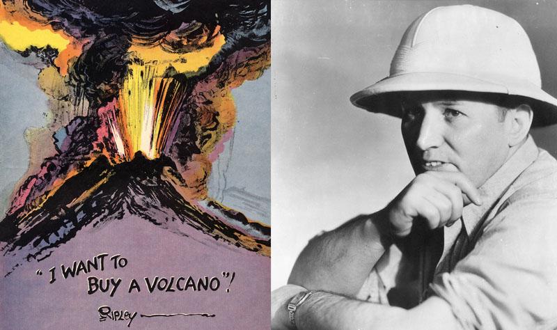 ripley mahu beli gunung berapi