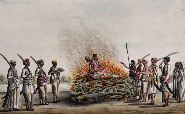 ritual sati hindu