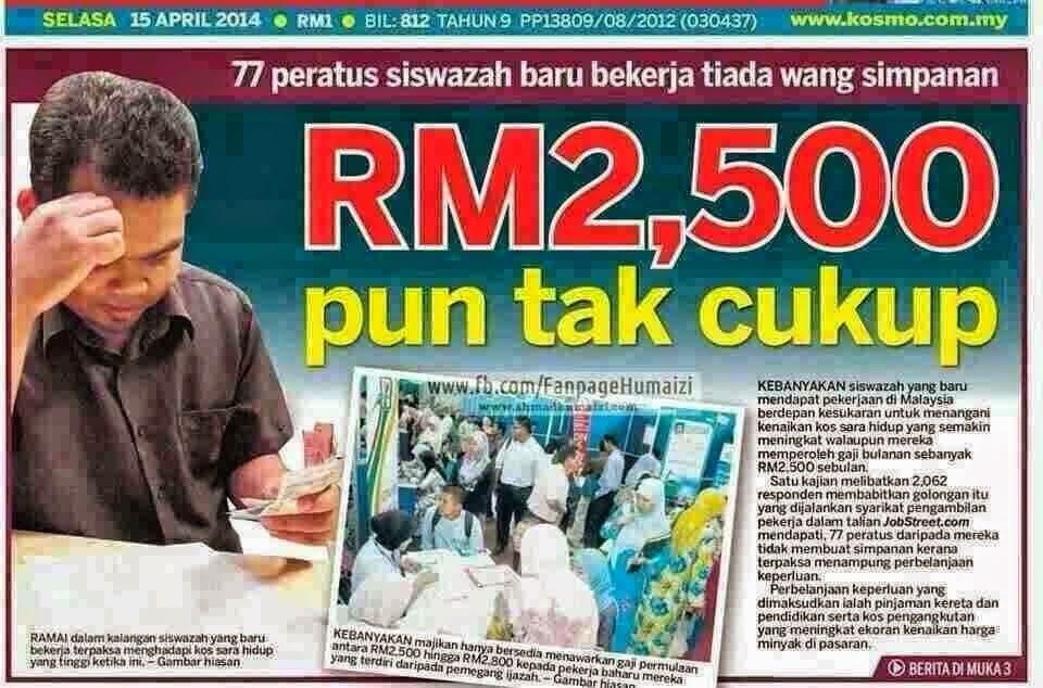 rm2500 tak cukup