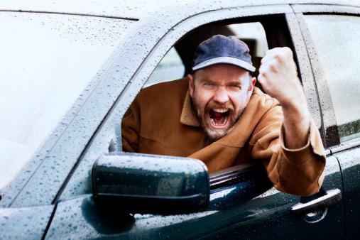 road rage pembuli jalan raya