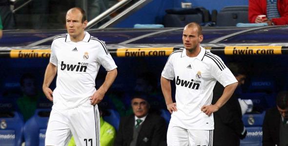 robben and sneijder