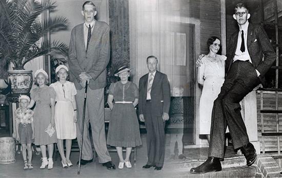 robert wadlow manusia gergasi paling besar dan tinggi di dunia