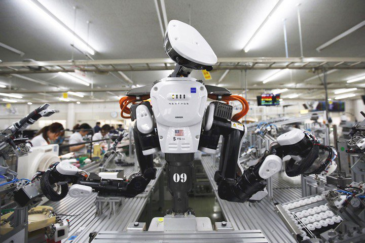robot kerja kilang