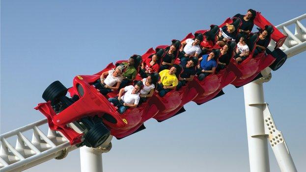 roller coaster formula rossa
