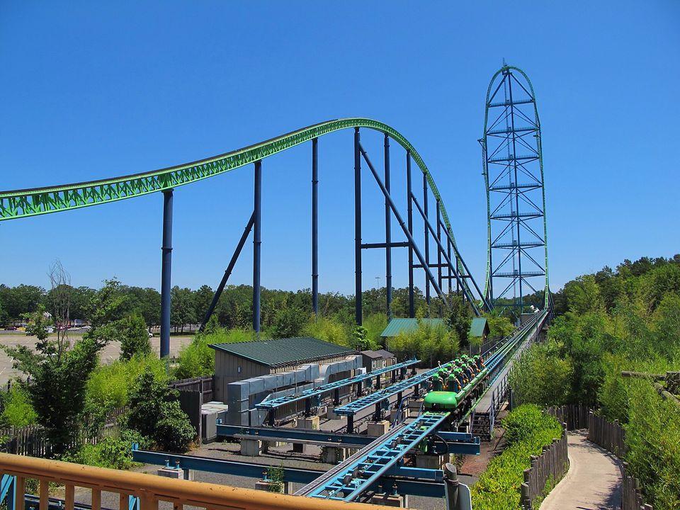 roller coaster kingda ka