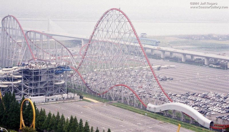 roller coaster steel dragon 2000