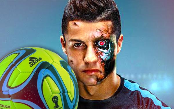 ronaldo cyborg terminator
