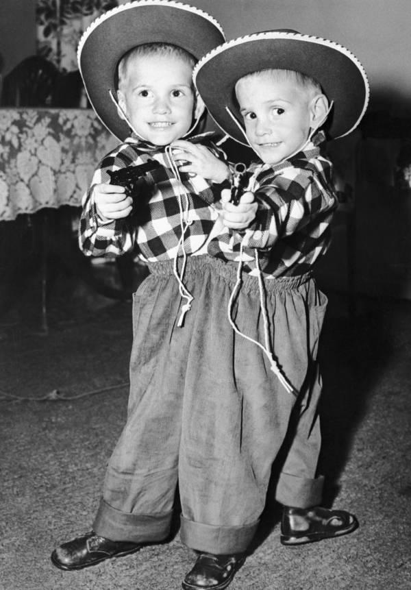 ronnie dan donnie galyon ketika berusia 3 tahun