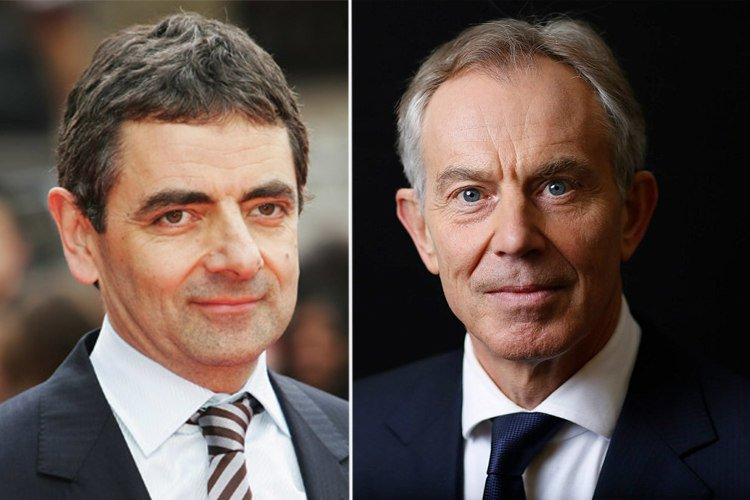 rowan atkinson dan tony blair