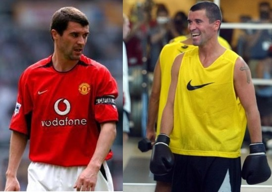 roy keane boxing