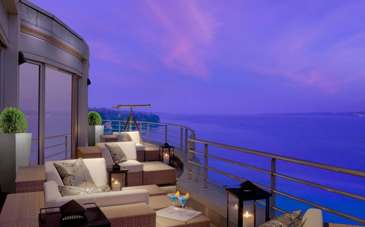 royal penthouse suit at the hotel president
