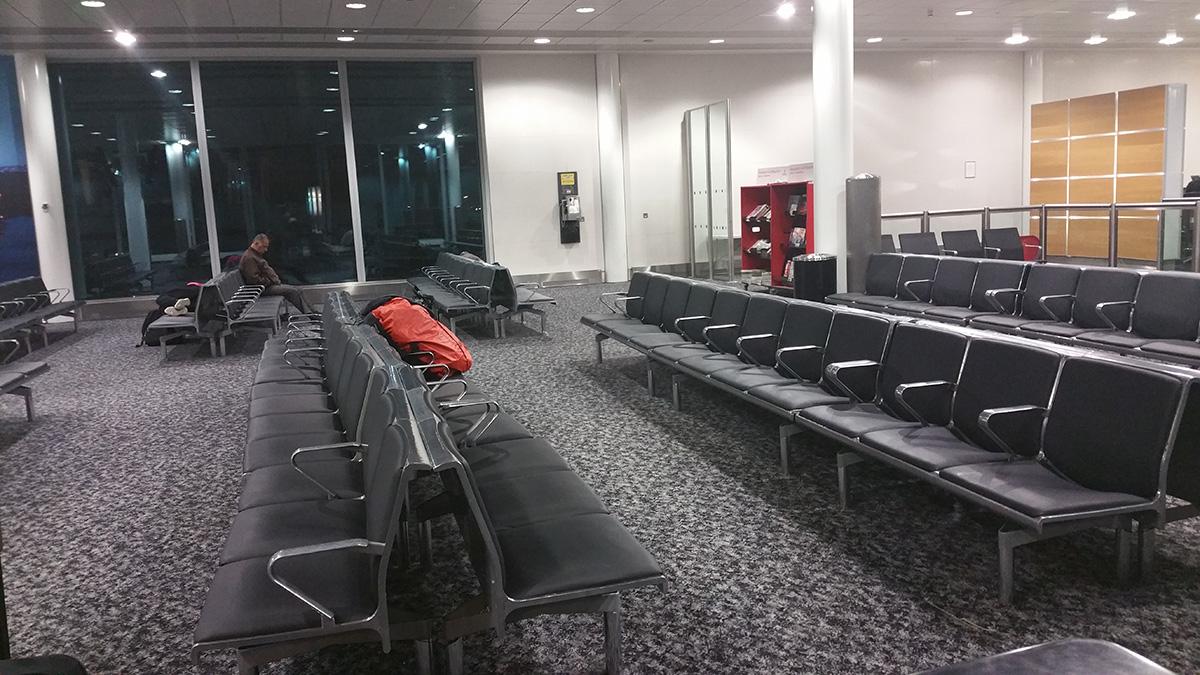 ruang menunggu pesawat
