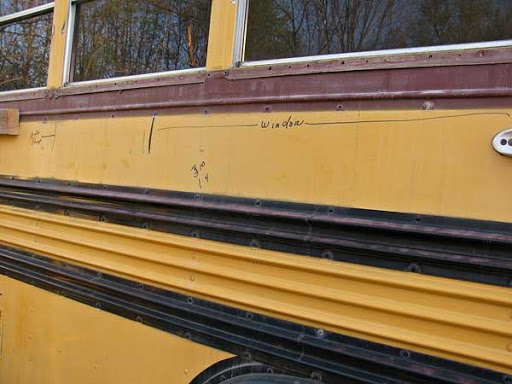 rub rail bas sekolah amerika syarikat