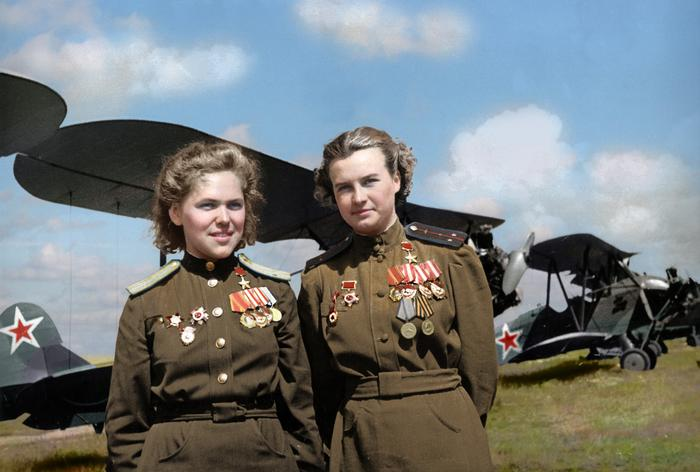 rufina gasheva nataly meklin heroes of the soviet union famed night witches world war ii 15318587441105