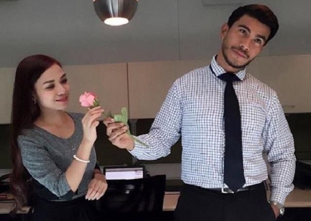 ruhainies jawab gosip cinta dengan azrel ismail 2