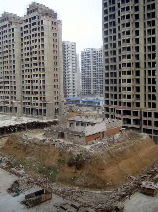 rumah china putus bekalan elektrik air