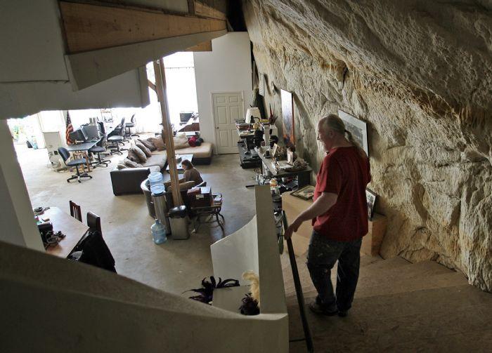 rumah gua rumah bawah tanah 2