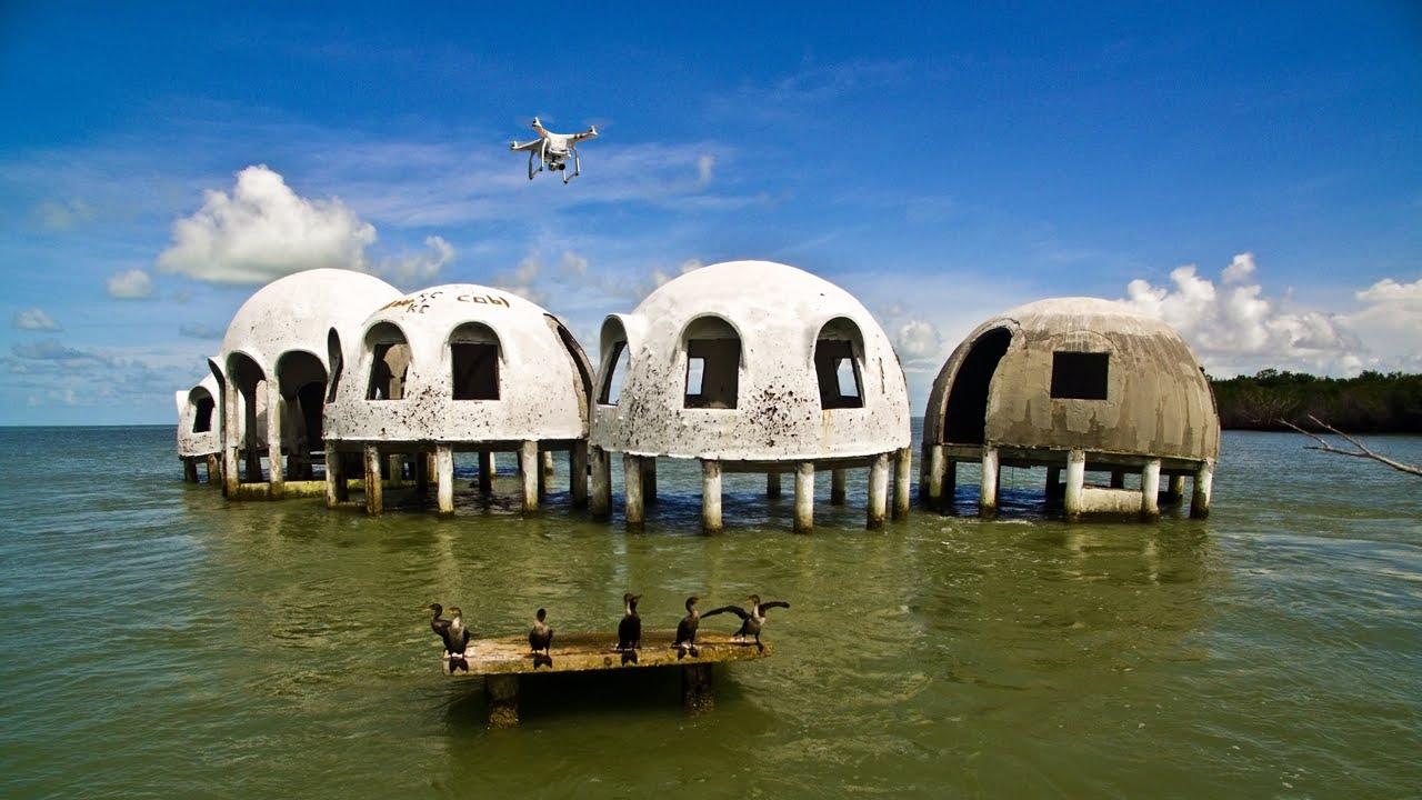 rumah kubah 10 tempat terbengkalai menakjubkan yang dijumpai dalam google earth