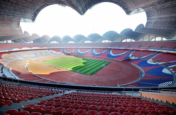 rungrado may stadium 15 fakta pelik dan menarik mengenai korea utara