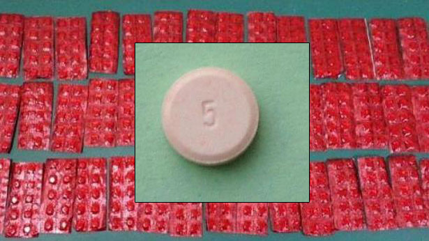 rupa bentuk dadah pil erimin 5