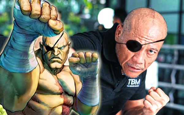 sagat petchyindee street fighter real