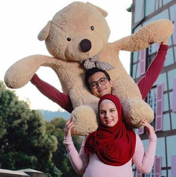 saharul ridzwan bimbang kesihatan deena emir 1