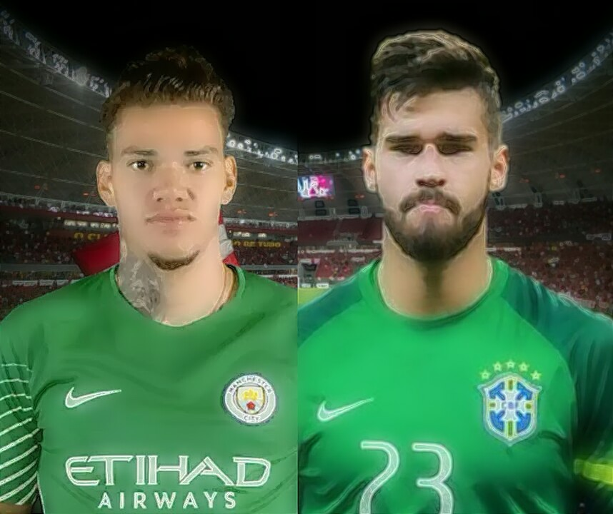 saingan sengit antara ederson dan allison bagus untuk brazil