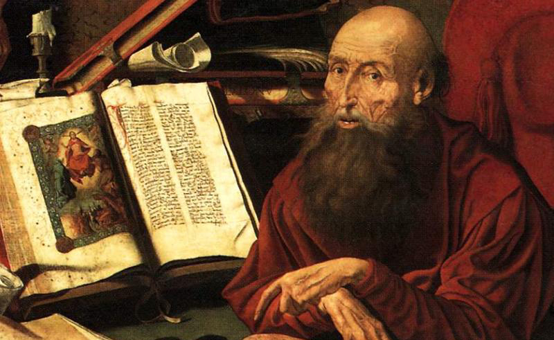 saint jerome the latin vulgate terjemahan bible ke bahasa latin