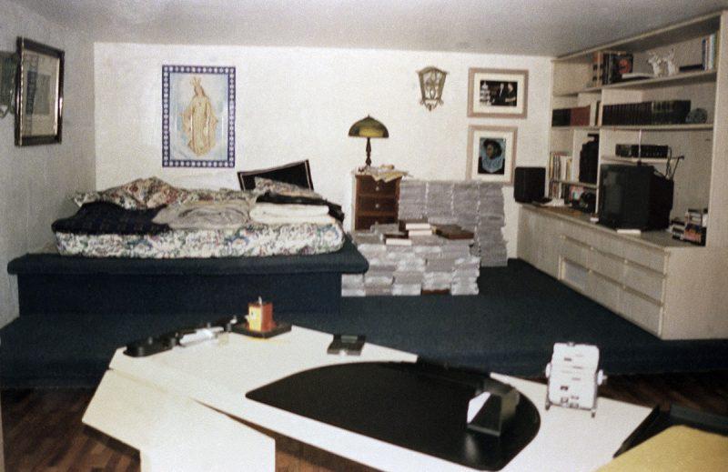 salah satu bilik dalam penjara pablo escobar